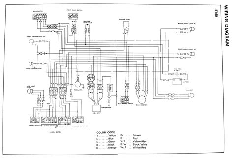 kdx 175 wiring diagram diagrams and schematics kdx free