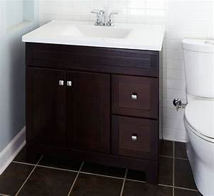 replace a bath vanity With how to install bathroom vanity against wall