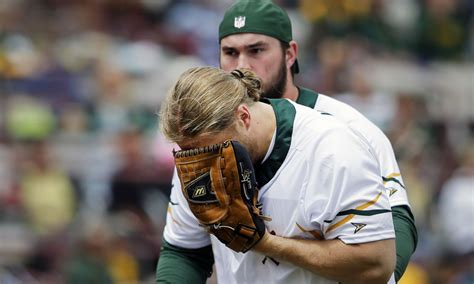 clay matthews breaks nose  charity softball game