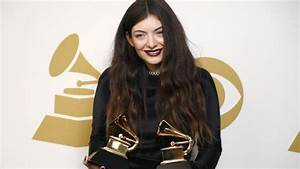 Lorde's up for Album of the Year at the Grammys