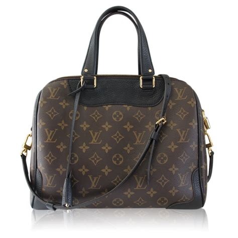 louis vuitton monogram retiro nm noir black handbag purse