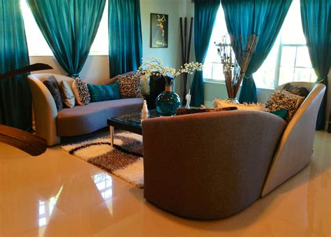 Ideas For Living Room Teal by Living Room In Teal Silver And Black Teal