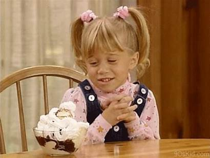 Michelle Tanner Gifs Cream Ice Eating Chocolate