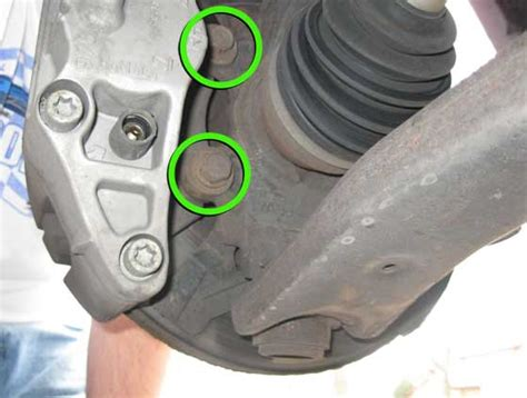 mazdaspeed howto install front brake pads  rotors