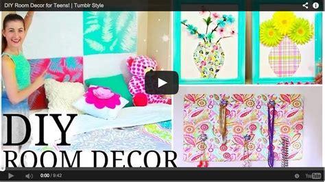 diy room decor  teens tumblr style craft teen