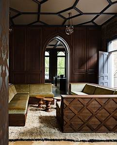 Gothic office by jessica helgerson interior design for Interior design office portland
