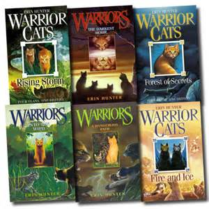 warrior cats new books warrior cats collection erin 6 books set pack