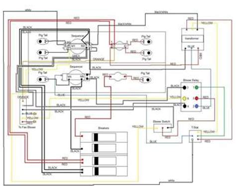solved wiring diagram for electric furnance fixya