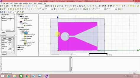 How To Design Tapered Slot Antenna Using Hfss13 (1) Youtube