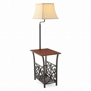 TOP 10 Side table with lamp attached 2018 Warisan Lighting