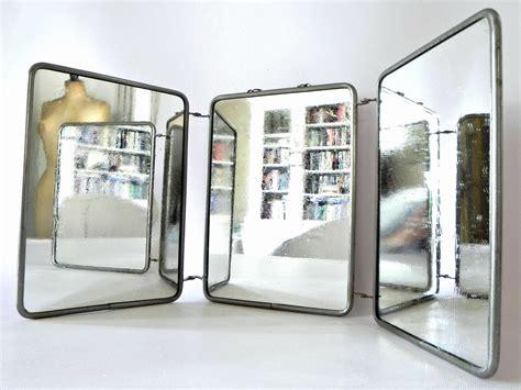 3 way vanity mirror vintage three way tri fold vanity mirror omero home