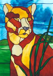 Animal Stained Glass Windows