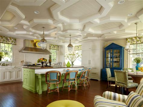 Don't forget about your kitchen ceiling! Pictures of Colorful Kitchens: Ideas for Using Color in ...