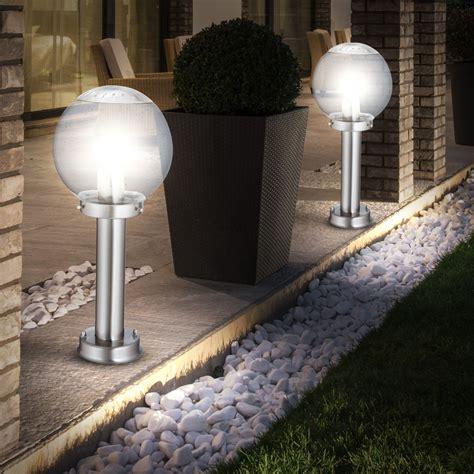 eclairage balcon luminaire ext 233 rieur ladaire acier inoxydable jardin