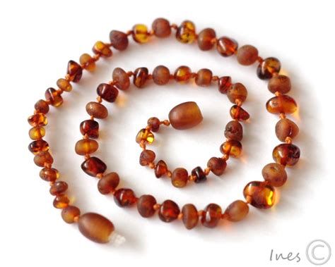 Baby Amber Teething Necklace 100 Genuine Baltic Amber Screw