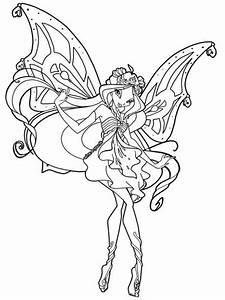 10 disegni da colorare delle Winx