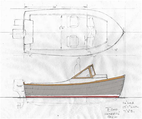 Boat Plans by Lapstrake Power Boat Plans Varas