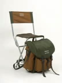 shakespeare backpack stool chair rucksack fishing walking bag with back rest ebay