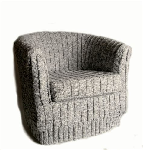 tub chair slipcover sneak peak at aw12 toft alpaca 39 s knitted tub chair cover