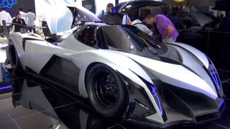 devel sixteen debuts in dubai with alleged 5 000 hp and 350 mph top speed autoblog