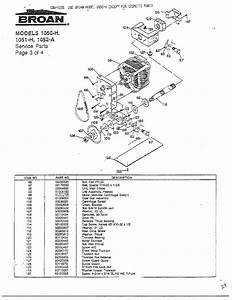 Broan Model 1051h Compactors Genuine Parts