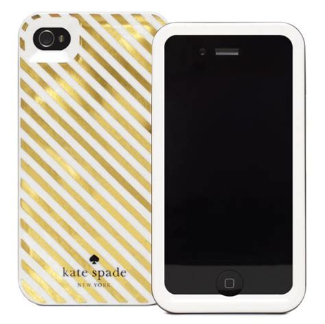 kate spade iphone drop it like it s kate spade s diagonal stripe iphone