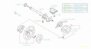 Subaru Forester Steering Column Bushing  Wheel