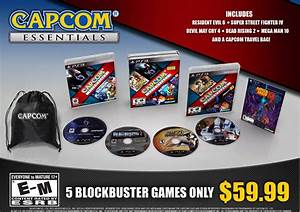 Capcom Essentials Five Game Pack Coming Oct 8 Polygon