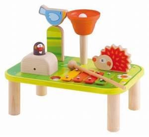 Table Eveil Bebe : tableau d 39 activit s musical de 3 24 mois id e cadeau enfant jeux jouets ~ Teatrodelosmanantiales.com Idées de Décoration