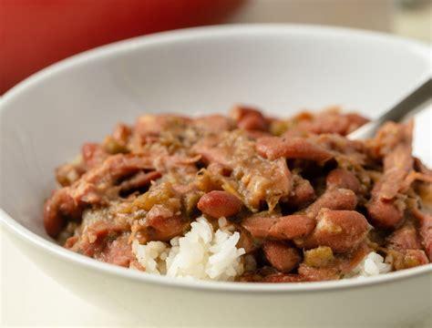 good taste  pot red beans rice   orleans