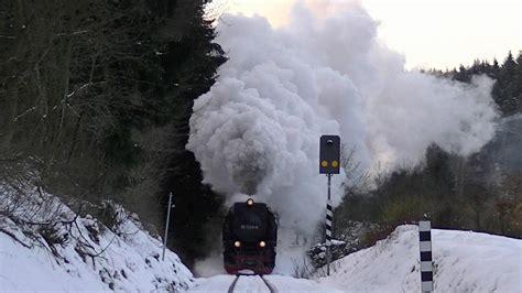 winter volldampf harz dampfloks und schnee youtube
