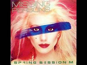 """Missing Persons """"Destination Unknown"""" Artist: Missing ..."""