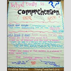Understanding Comprehension And A Free Reading Inventory  Young Teacher Love
