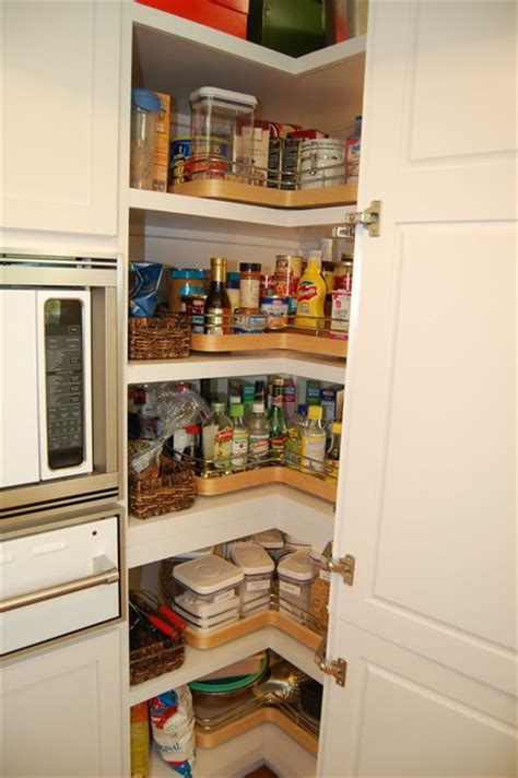 Corner Pantry Cabinets For Kitchen by Walk In Corner Pantry Cabinet Pantry Cupboards