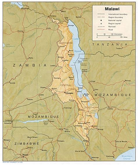 nationmaster maps of malawi 3 in total