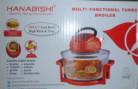 Hanabishi Multi Function Turbo broiler   Cebu Appliance Center