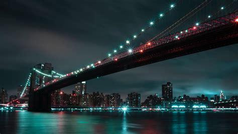 download wallpaper 1920x1080 bridge city lights city lights usa full hd