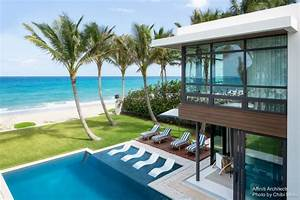 Palm beach oceanfront house florida e architect for Home design furniture palm coast florida