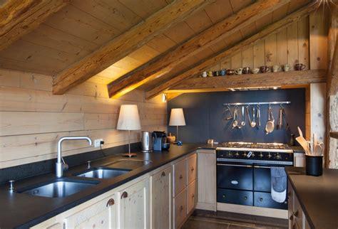 cuisine chalet moderne cuisine moderne chalet maison moderne