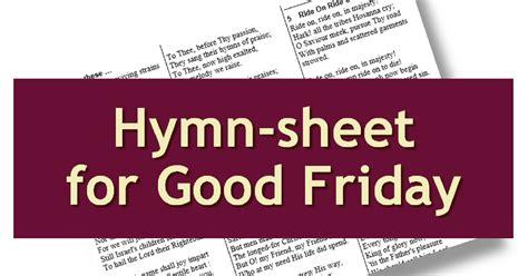 liturgytoolsnet printable  hymn sheet  lent