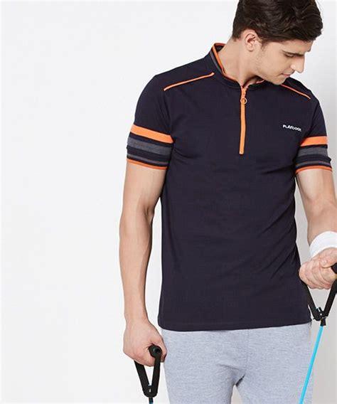 yepme navyblue brendon high performance polo  shirt