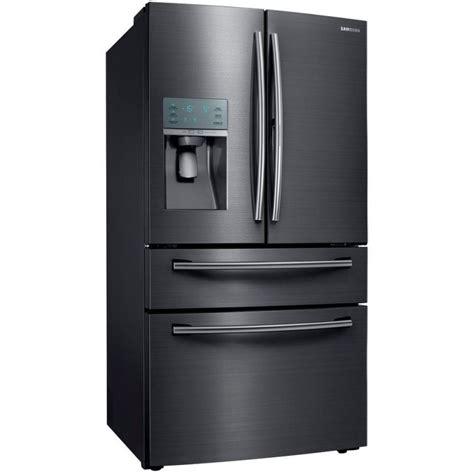 samsung counter depth door refrigerator samsung rf22kredbsg 22 4 cu ft food showcase 4 door