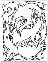 Abstract Coloring Pages Printable sketch template