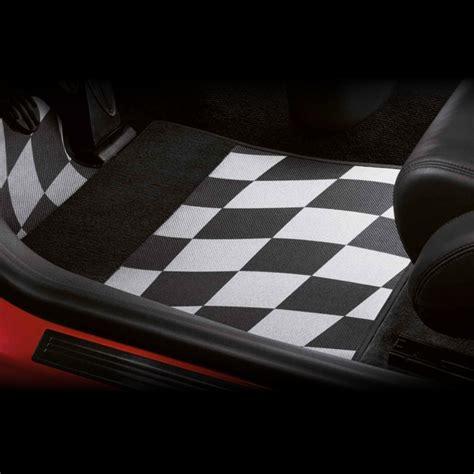 tapis de sol mini cooper tapis de sol jcw damier dans accessoires d origine mini gt accessoires int 233 rieurs boutique