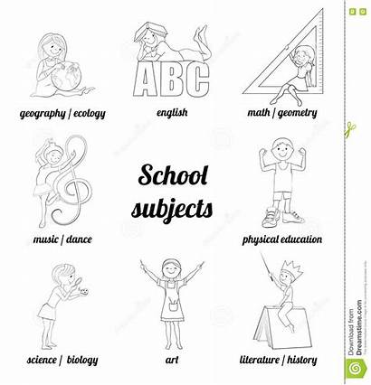 Subjects Coloring English Vector Science Math Physical