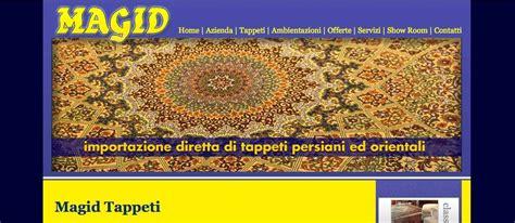 magid tappeti magid tappeti realizzazione sito web negozio tappeti