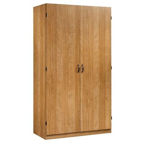 Sauder Beginnings Storage Cabinet Highland Oak by Sauder Beginnings Wardrobe In Highland Oak 413329