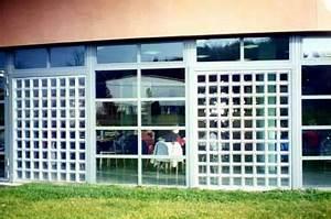 saverbat exemple de realisation mur exterieur en briques With montage brique de verre exterieur