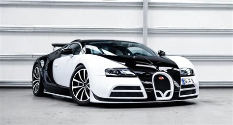 Panda-Colored Bugatti Veyron Mansory Vivere Is One Of Two ...