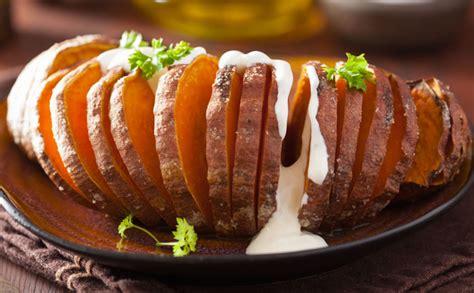 cuisiner patate douce au four patate douce rôtie à la suédoise wecook